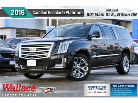 2016 Cadillac Escalade ESV PLATINUM | ESV | NO ACCIDENT | DVD | NAV | 360 CAM (Stk: PL5259) in Milton - Image 1 of 30