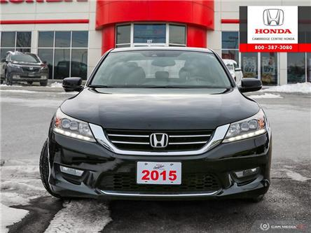 2015 Honda Accord Touring V6 (Stk: U4989) in Cambridge - Image 2 of 27
