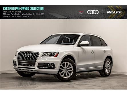 2017 Audi Q5 3.0T Progressiv (Stk: C7345) in Woodbridge - Image 1 of 22