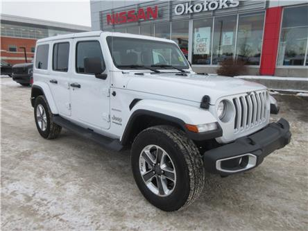 2019 Jeep Wrangler Unlimited Sahara (Stk: 9894) in Okotoks - Image 1 of 30