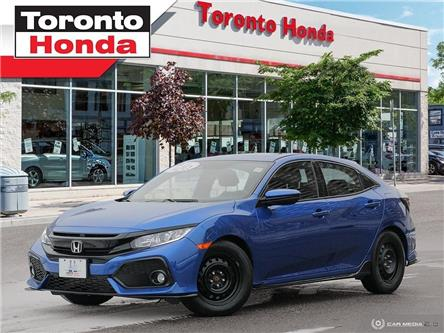 2018 Honda Civic Hatchback Sport (Stk: H39846T) in Toronto - Image 1 of 28