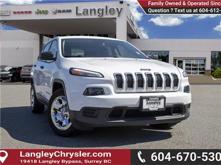 2016 Jeep Cherokee Sport (Stk: EE910750) in Surrey - Image 1 of 20