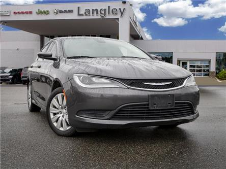 2016 Chrysler 200 LX (Stk: EE910550B) in Surrey - Image 1 of 20