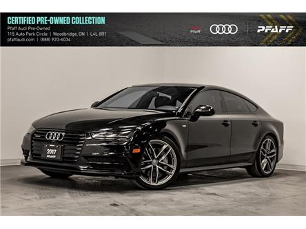 2017 Audi A7 3.0T Technik (Stk: C7383) in Woodbridge - Image 1 of 22