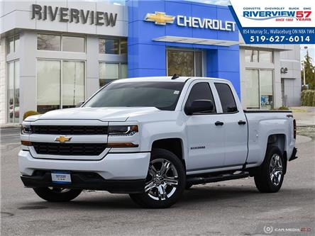 2018 Chevrolet Silverado 1500 Silverado Custom (Stk: U1840) in WALLACEBURG - Image 1 of 27