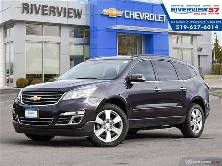 2015 Chevrolet Traverse LTZ (Stk: 19035A) in WALLACEBURG - Image 1 of 30