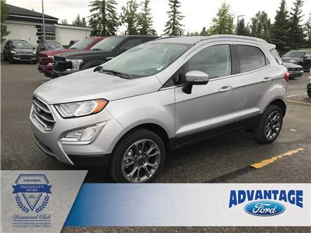 2018 Ford EcoSport Titanium (Stk: J-1517) in Calgary - Image 1 of 5