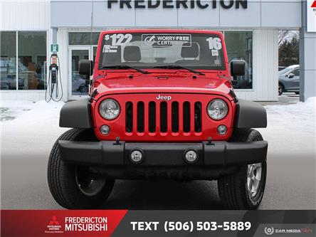 2016 Jeep Wrangler Sport (Stk: 191413A) in Fredericton - Image 2 of 21
