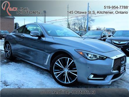 2017 Infiniti Q60 2.0T (Stk: JN1CV7) in Kitchener - Image 1 of 26