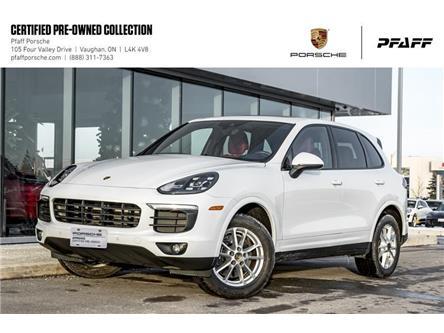 2016 Porsche Cayenne w/ Tip (Stk: U8271) in Vaughan - Image 1 of 22