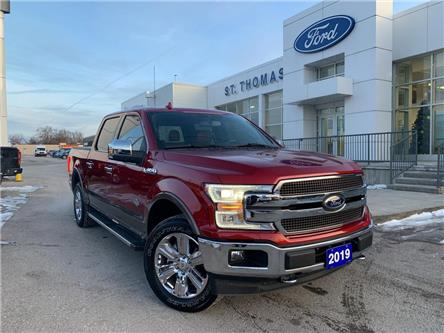 2019 Ford F-150 King Ranch (Stk: S0061A) in St. Thomas - Image 1 of 30
