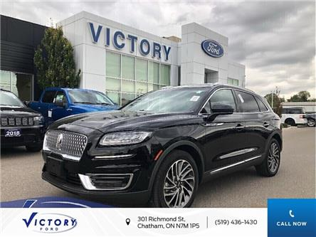 2019 Lincoln Nautilus Reserve (Stk: V10342CAP) in Chatham - Image 1 of 24