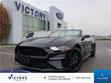 2019 Ford Mustang GT Premium (Stk: V10355CAP) in Chatham - Image 1 of 19