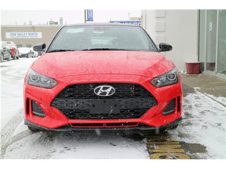 2020 Hyundai Veloster Turbo w/Two-Tone Paint (Stk: 194907) in Markham - Image 2 of 22
