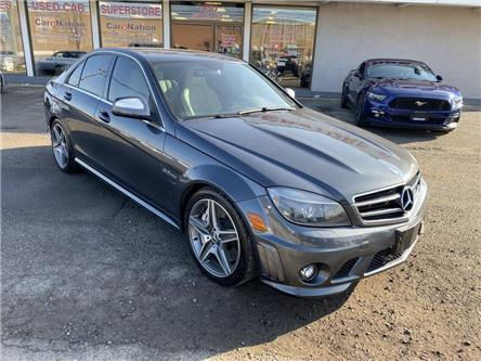2009 Mercedes-Benz C-Class C63 AMG | LEATHER | SUNROOF | 451HP | 443LB-FT TQ (Stk: G0065) in Oakville - Image 2 of 18