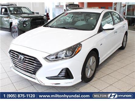 2019 Hyundai Sonata Hybrid Preferred (Stk: 090736   ) in Milton - Image 1 of 38