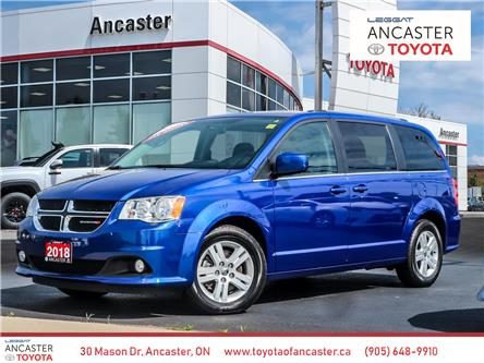 2018 Dodge Grand Caravan Crew (Stk: P138) in Ancaster - Image 1 of 27