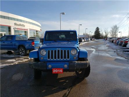 2016 Jeep Wrangler Sahara (Stk: P2026A) in Whitchurch-Stouffville - Image 2 of 12