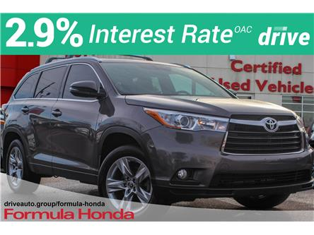 2016 Toyota Highlander Limited (Stk: B11576) in Scarborough - Image 1 of 31
