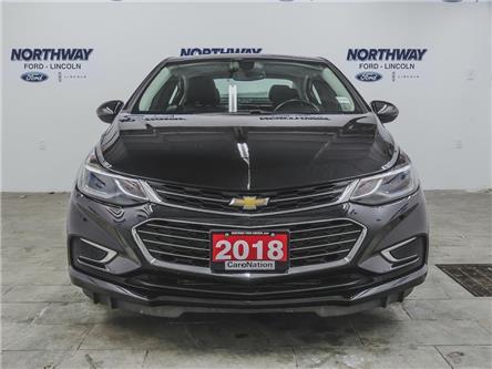 2018 Chevrolet Cruze Premier | NAV | LEATHER | PUSH START | SUNROOF | (Stk: P5282) in Brantford - Image 2 of 39