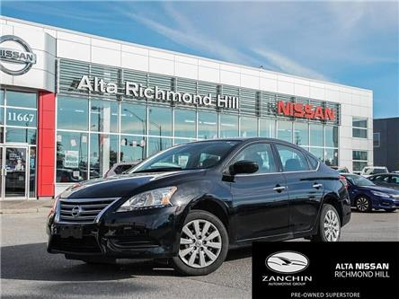 2014 Nissan Sentra 1.8 SV (Stk: RY19K122A) in Richmond Hill - Image 1 of 19