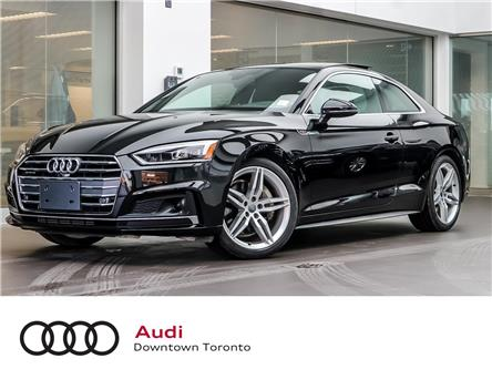 2018 Audi A5 2.0T Technik (Stk: P3504) in Toronto - Image 1 of 25