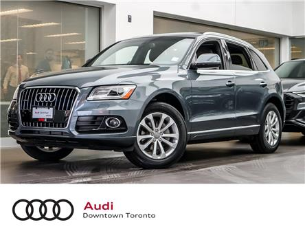 2016 Audi Q5 2.0T Progressiv (Stk: P3595) in Toronto - Image 1 of 28
