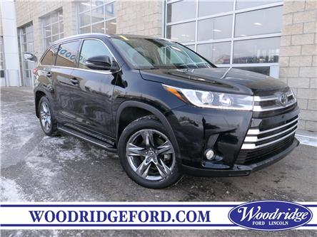 2018 Toyota Highlander Limited (Stk: K-134A) in Calgary - Image 1 of 22