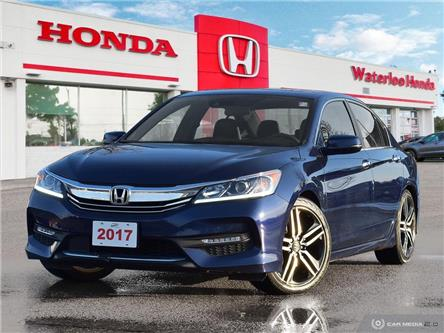 2017 Honda Accord Sport (Stk: u6621) in Waterloo - Image 1 of 27