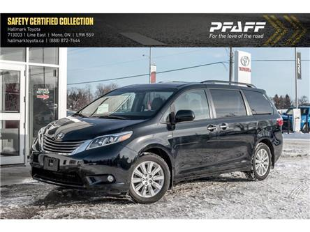 2016 Toyota Sienna XLE AWD 7-Pass V6 6A (Stk: H20033A) in Orangeville - Image 1 of 22