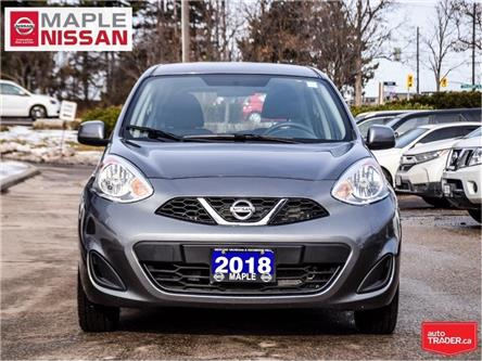 2018 Nissan Micra SV Style|Alloys|Bluetooth|Keyless Entry (Stk: UM1632) in Maple - Image 2 of 20
