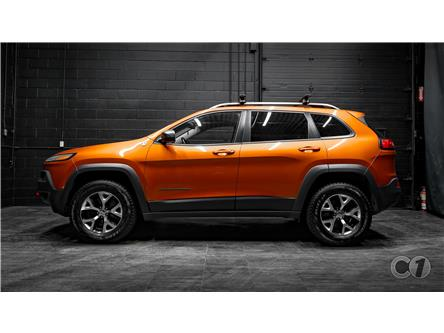 2016 Jeep Cherokee Trailhawk (Stk: CT19-555) in Kingston - Image 1 of 35