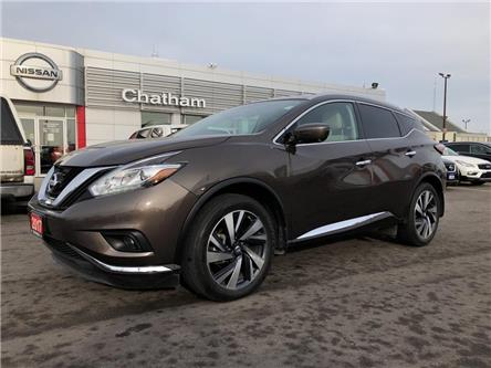 2017 Nissan Murano  (Stk: T9403A) in Chatham - Image 1 of 19