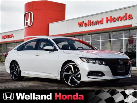 2020 Honda Accord Sport 1.5T (Stk: N20055) in Welland - Image 1 of 25