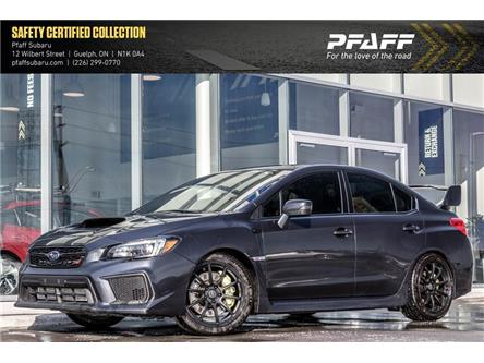 2018 Subaru WRX STI Sport-tech w/Wing (Stk: SU0147) in Guelph - Image 1 of 22