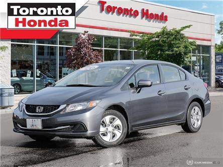 2015 Honda Civic Sedan LX (Stk: H39818A) in Toronto - Image 1 of 26