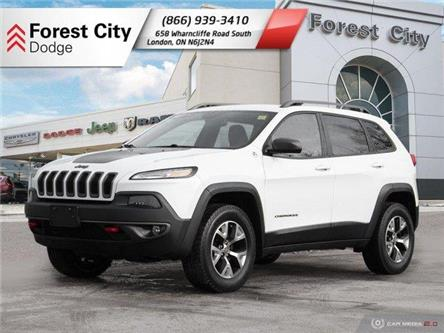 2016 Jeep Cherokee Trailhawk (Stk: 20-R021A) in London - Image 1 of 27