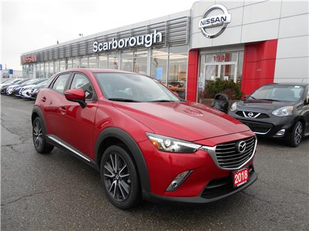 2018 Mazda CX-3 GT (Stk: P7710) in Scarborough - Image 1 of 21
