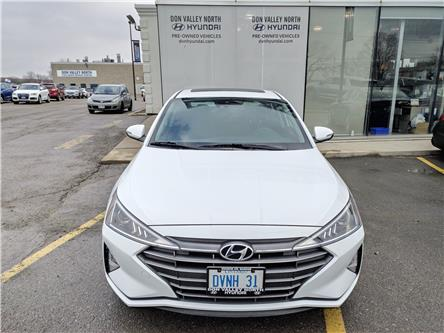 2020 Hyundai Elantra Preferred w/Sun & Safety Package (Stk: D194525) in Markham - Image 1 of 21