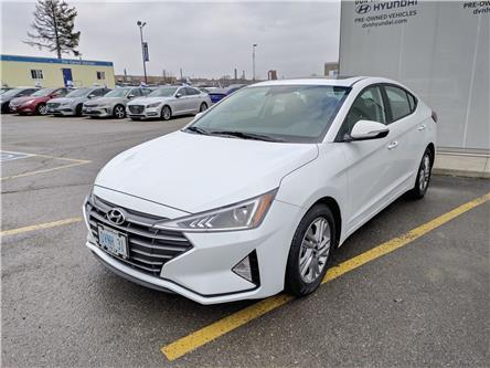 2020 Hyundai Elantra Preferred w/Sun & Safety Package (Stk: D194525) in Markham - Image 2 of 21