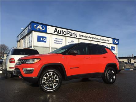 2018 Jeep Compass Trailhawk (Stk: 18-12492) in Brampton - Image 1 of 26