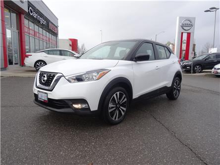 2019 Nissan Kicks SV (Stk: KL557619) in Bowmanville - Image 1 of 28