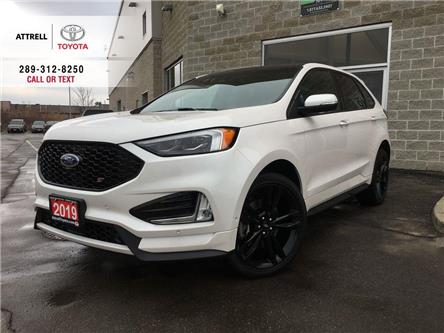 2019 Ford Edge ST AWD NAVI, POWER HEATED SEAT, ALLOYS, FOG LAMPS, (Stk: 44255A) in Brampton - Image 1 of 28