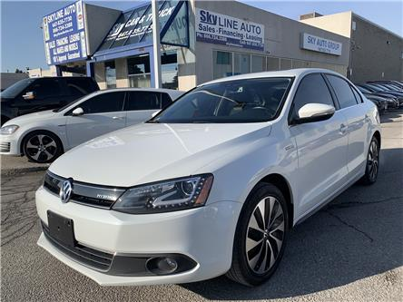 2014 Volkswagen Jetta Turbocharged Hybrid Highline (Stk: ) in Concord - Image 1 of 16