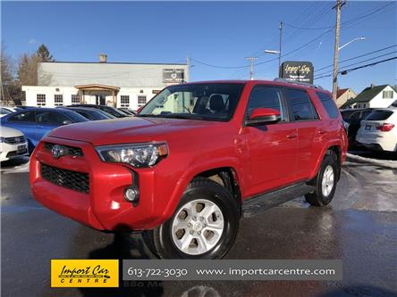 2016 Toyota 4Runner SR5 (Stk: 365051) in Ottawa - Image 1 of 26
