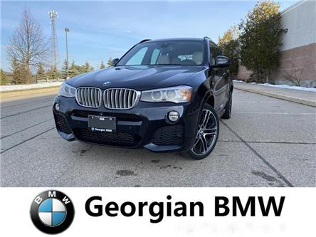 2016 BMW X3 xDrive35i (Stk: P1586) in Barrie - Image 1 of 14