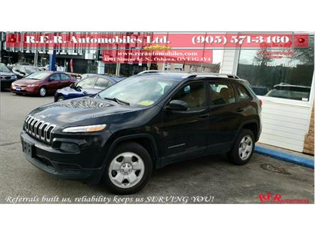 2014 Jeep Cherokee Sport (Stk: ) in Oshawa - Image 1 of 16