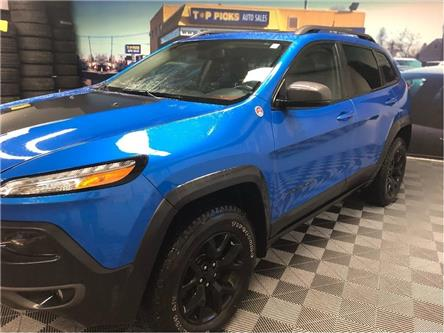 2018 Jeep Cherokee Trailhawk (Stk: 593681) in NORTH BAY - Image 2 of 29