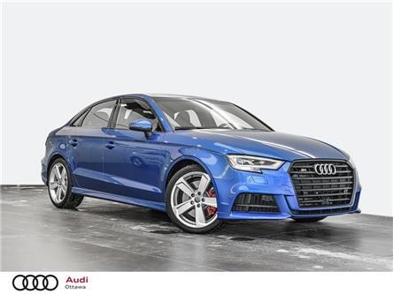 2018 Audi S3 2.0T Technik (Stk: PA643) in Ottawa - Image 1 of 20
