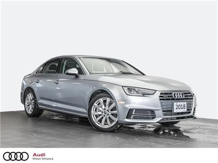 2018 Audi A4 2.0T Komfort (Stk: 92372A) in Nepean - Image 1 of 20